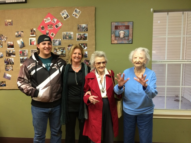 Feb 2015 visit to Texas. Danny.Mom.Sue.Jim. website