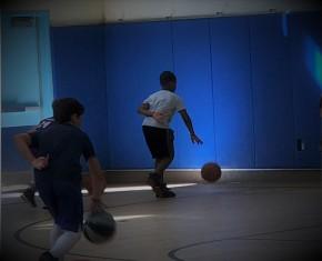 Dribble Drills at Nikos Basketball Camp