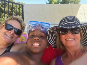 Pool Day with Becky and Sue - Super fun!