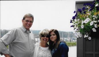 Doug and Margie Burt and Natalie 2014