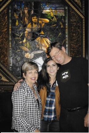 Margie, Natalie and Doug Burt 2015